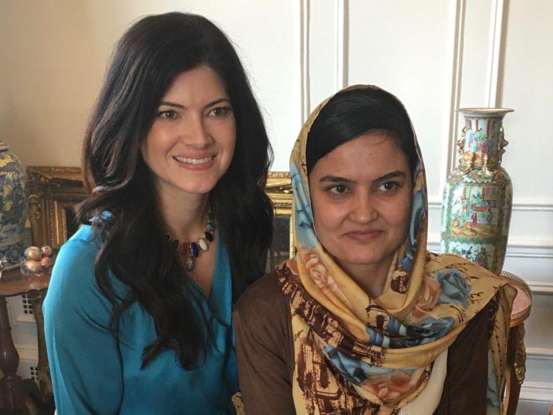 Katherine with Saeeda 1