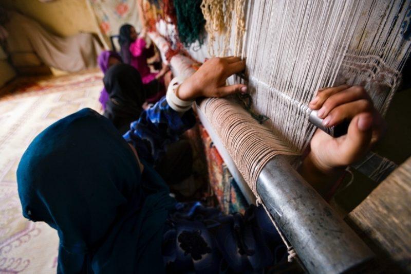 Weaver in Bamiyan Credit Turquoise Mountain